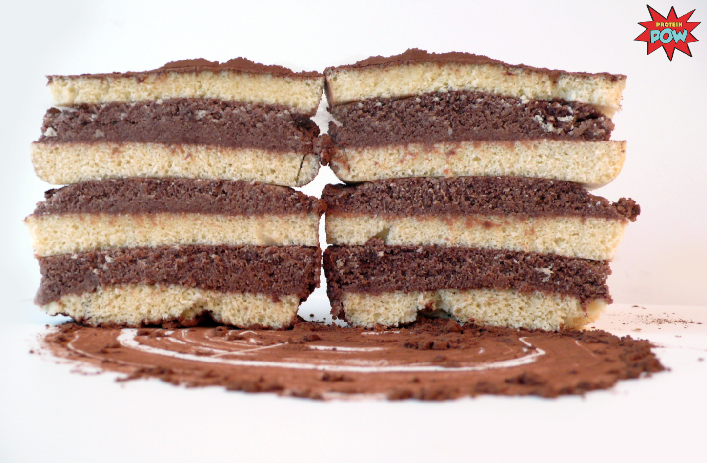 Protein Cake Recipe Low Carb: = PROTEIN POW(D)ER !: A 3 Ingredient Low-Carb Vanilla