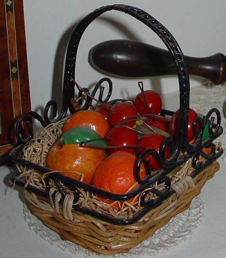 Fruits en pâte à sel