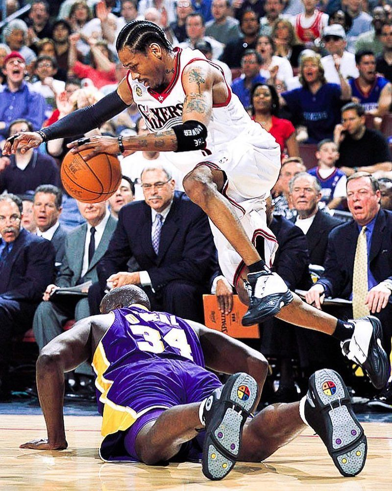 9a496403a50 Aftermath of trying to check Allen Iverson (2001)