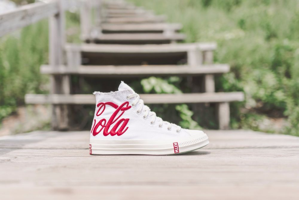 d7b9939f2c0ca9 KITH X COCA-COLA X CONVERSE CHUCK TAYLOR ALL STAR  70 UK 8.5 EUR 42 - SOLD  OUT!!