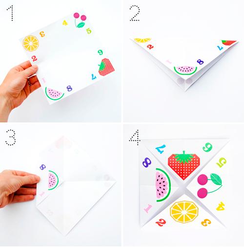 Гадалки оригами схемы