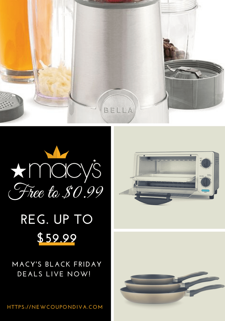 RUN 🏃🏻🔥🔥! Macy's Small Kitchen Appliances Just 0.99