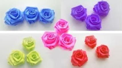 DIY Easy Paper Rose - Step by Step Flower Making Tutorial - video ... | 240x427