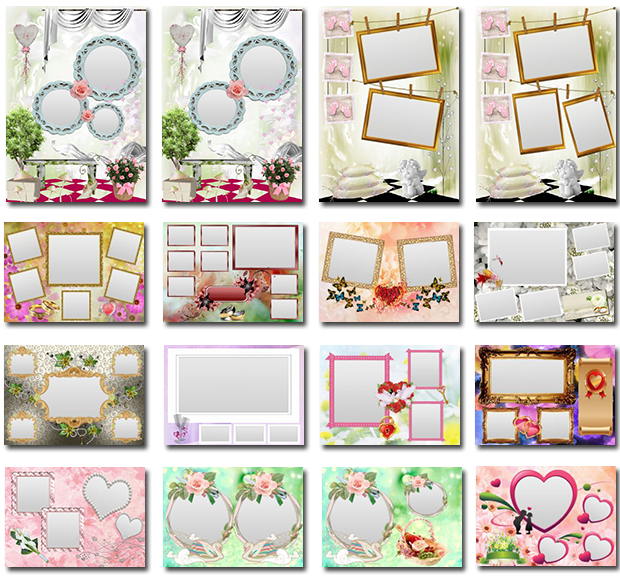 Wedding collage templates mlabramunegmail pinterest wedding collage templates maxwellsz