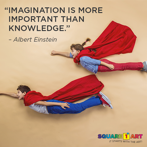 """Imagination is more important than knowledge."" -Albert Einstein #quote #art #creativity"