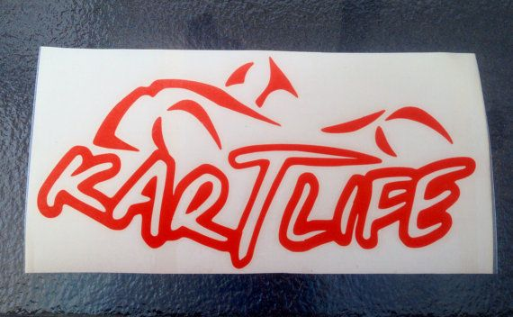 Kart Life Vinyl Decal Kart Racing Karting And Car Wash - Vinyl decals car wash