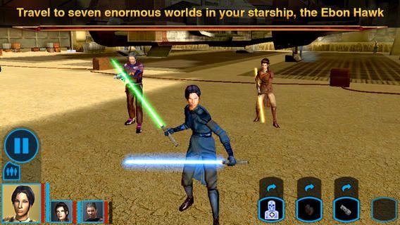 Top iPhone Game #113: Star Wars®: Knights of the Old Republic™ - Aspyr Media, Inc. by Aspyr Media, Inc. - 03/09/2014