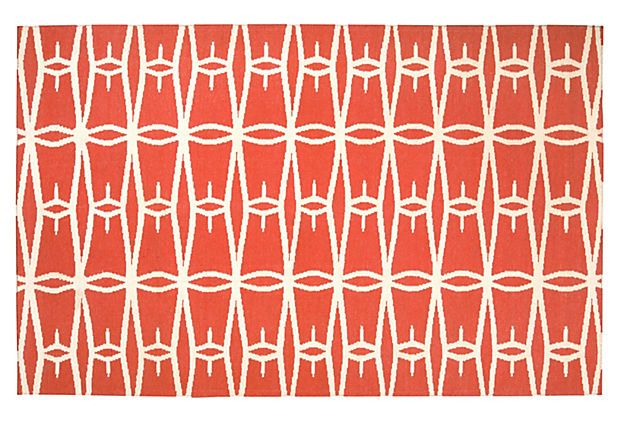 * Haven Rug in Coral