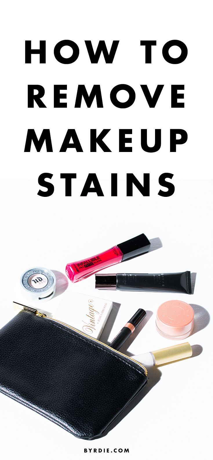 How to Get Rid of Every Kind of Makeup Stain, ASAP
