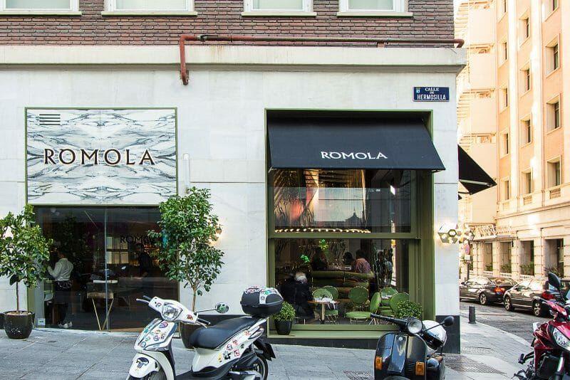 Rómola La Revolución Gastronómica Del Barrio De Salamanca Restaurantes Madrid Gastronomico Restaurantes
