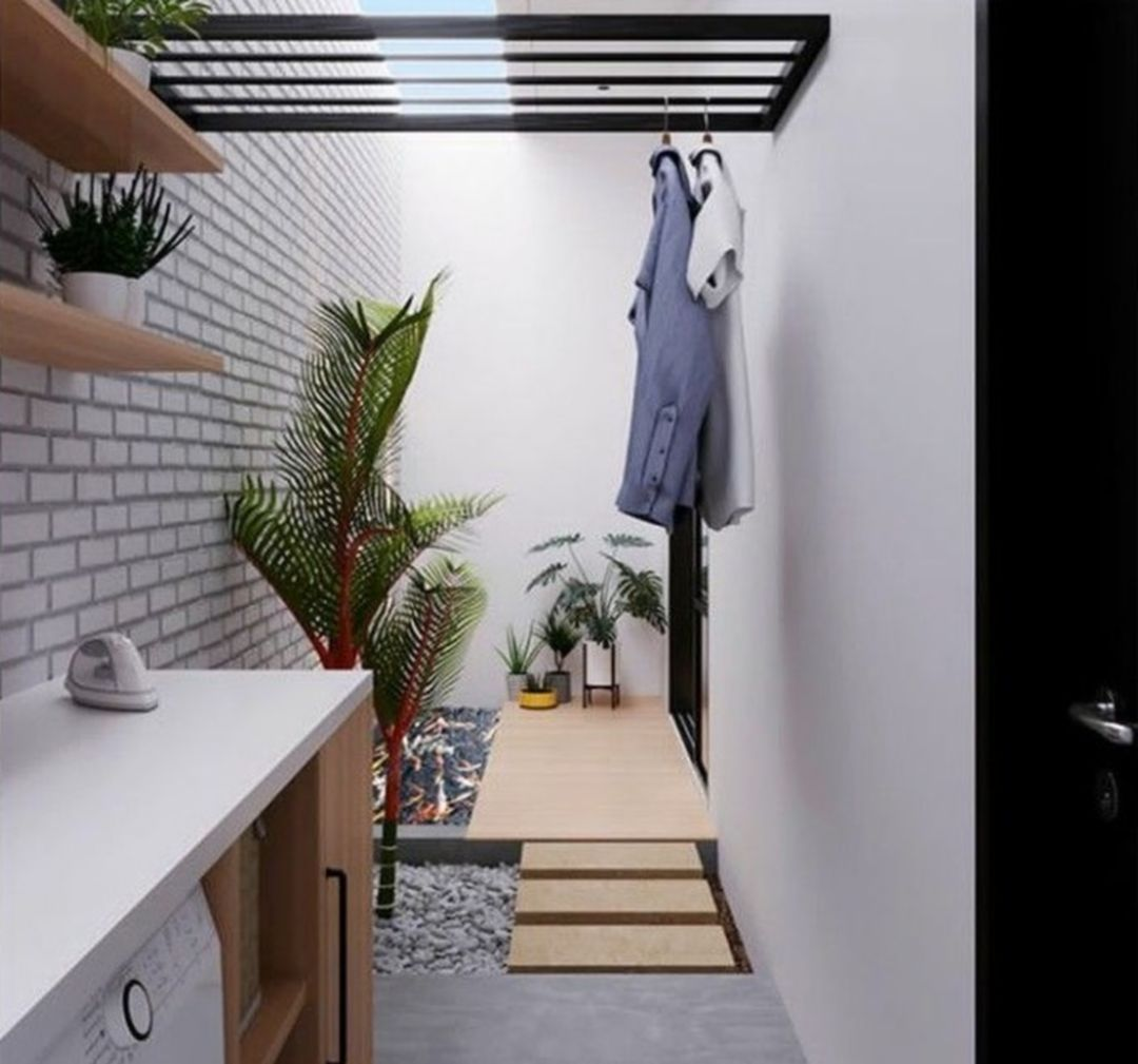 30 Simple Tiny House Interior Ideas For Inspiration Outdoor Laundry Rooms House Decoration Kitchen Tiny House Laundry Bathroomlaundry room design ideas