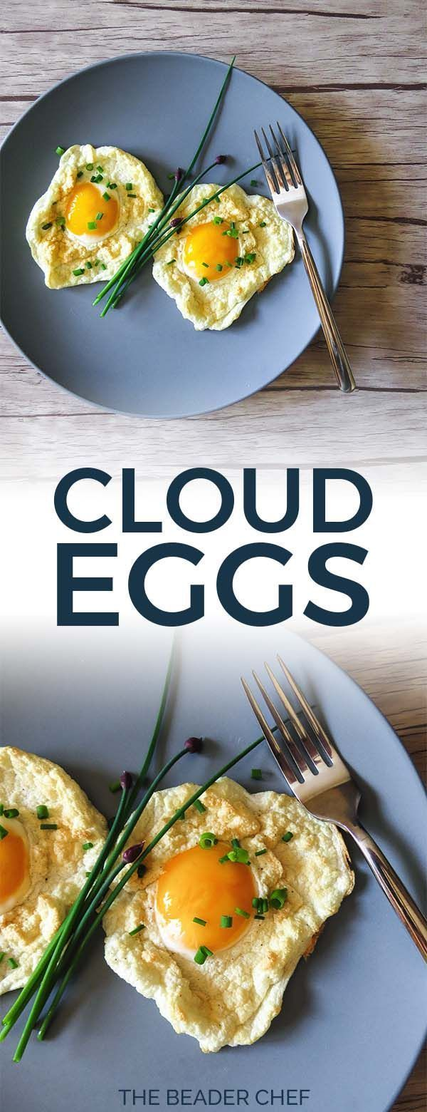 Cloud Eggs #cloudeggs Cloud Eggs - The latest breakfast egg trend! Cloud eggs or eggs in clouds are super customizable and so easy to make! Perfect for brunch for one, a couple or many! #cloudeggs #brunch #breakfast #eggs #vegetarian #easy - thebeaderchef.com #cloud Eggs #cloudeggs Cloud Eggs #cloudeggs Cloud Eggs - The latest breakfast egg trend! Cloud eggs or eggs in clouds are super customizable and so easy to make! Perfect for brunch for one, a couple or many! #cloudeggs #brunch #breakfast # #cloudeggs
