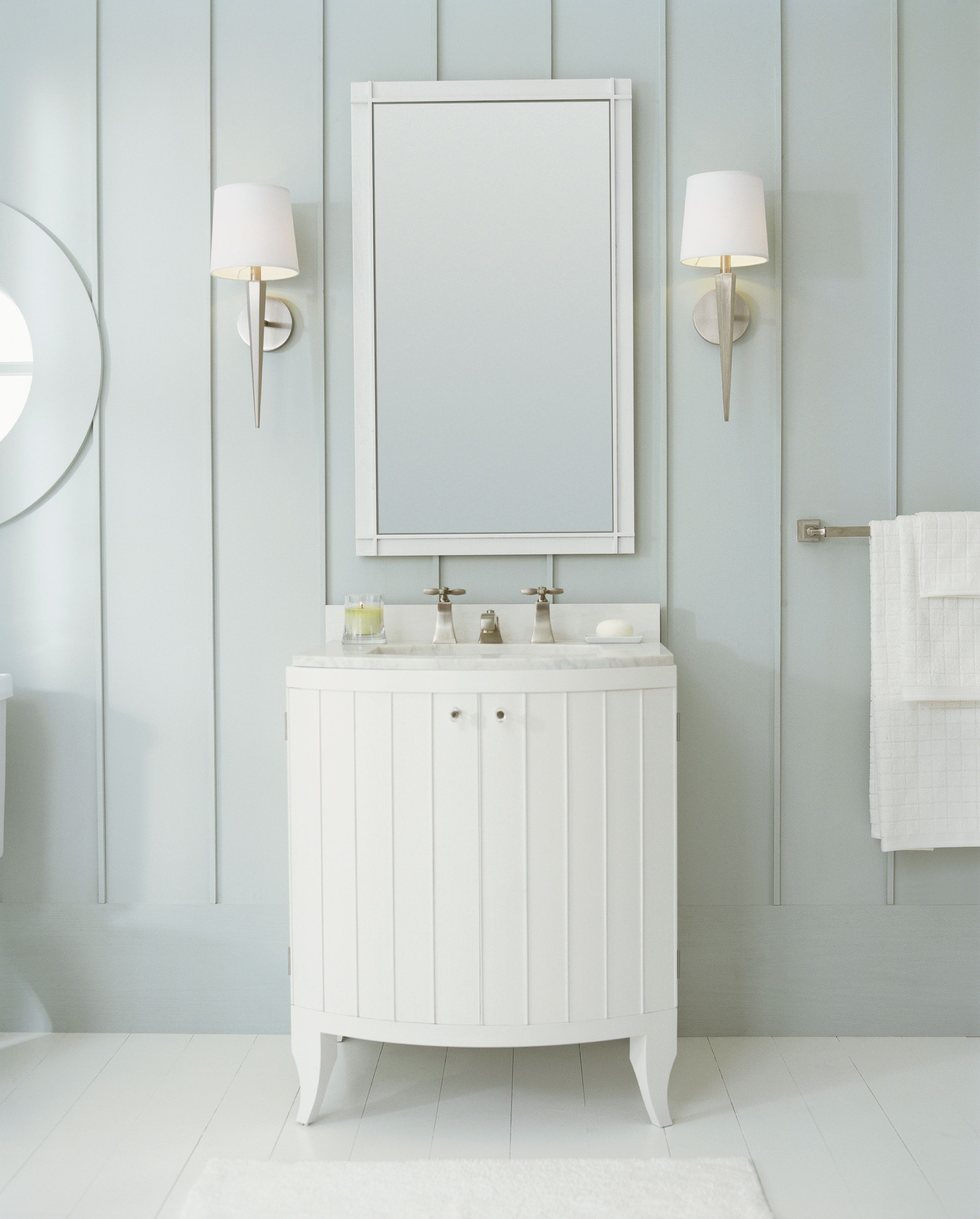 Original Collection By Barbara Barry Faucet Vanity Mirror And Lighting From Kallista
