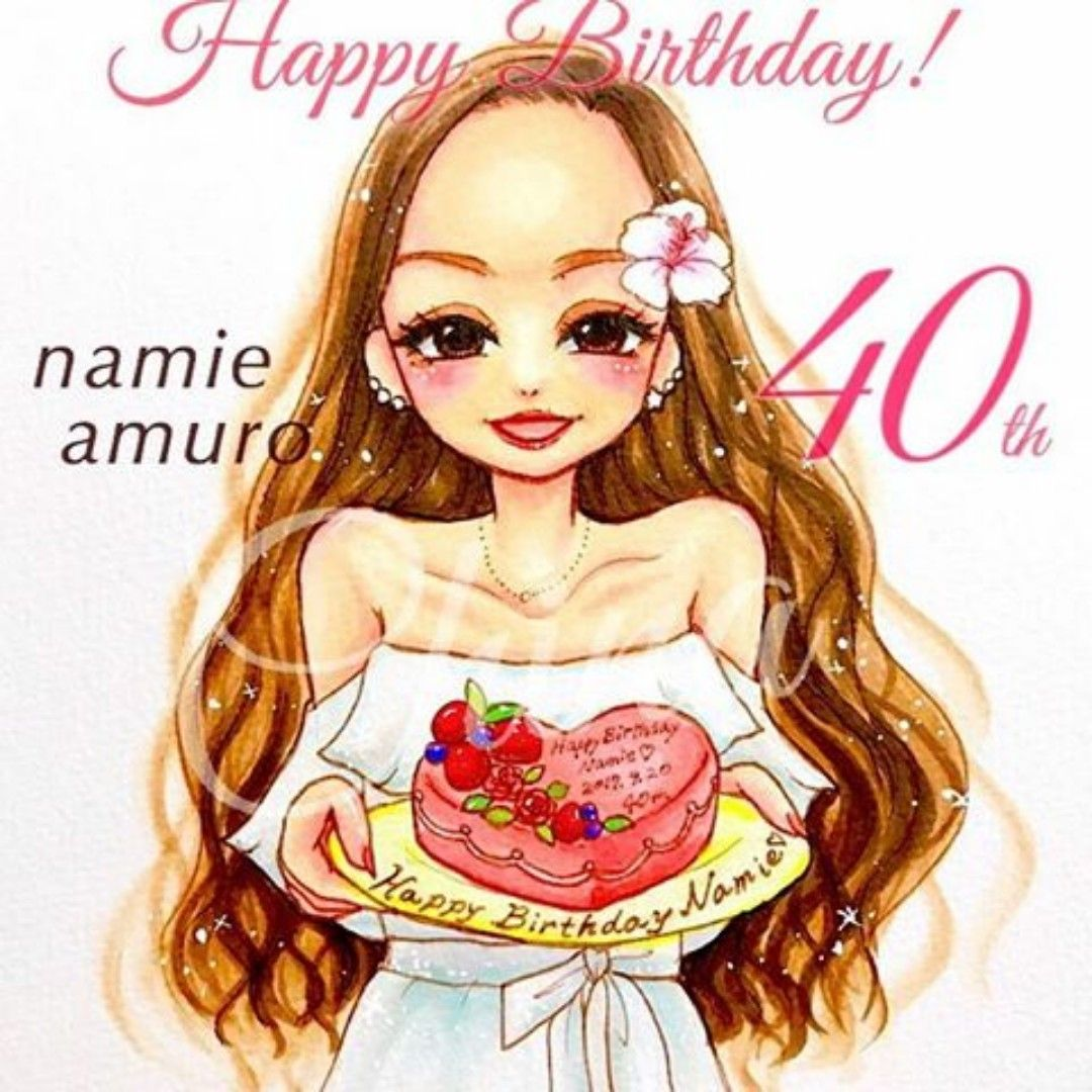 Pin By Kingking On Love Namie Amuro In 2019 似顔絵 イラスト