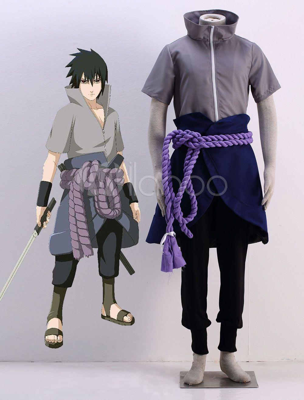 NARUTO Uchiha Sasuke cosplay costume Anime cartoons kimono Halloween