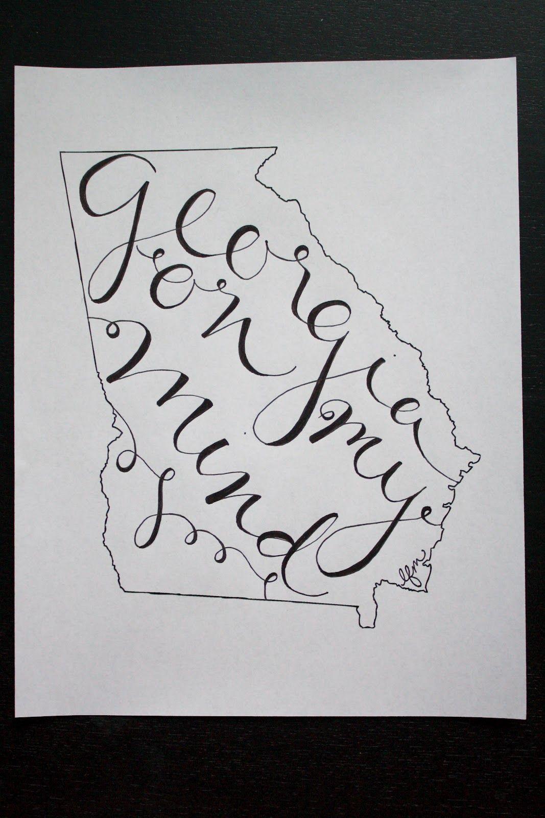 Handlettering in State #handlettering