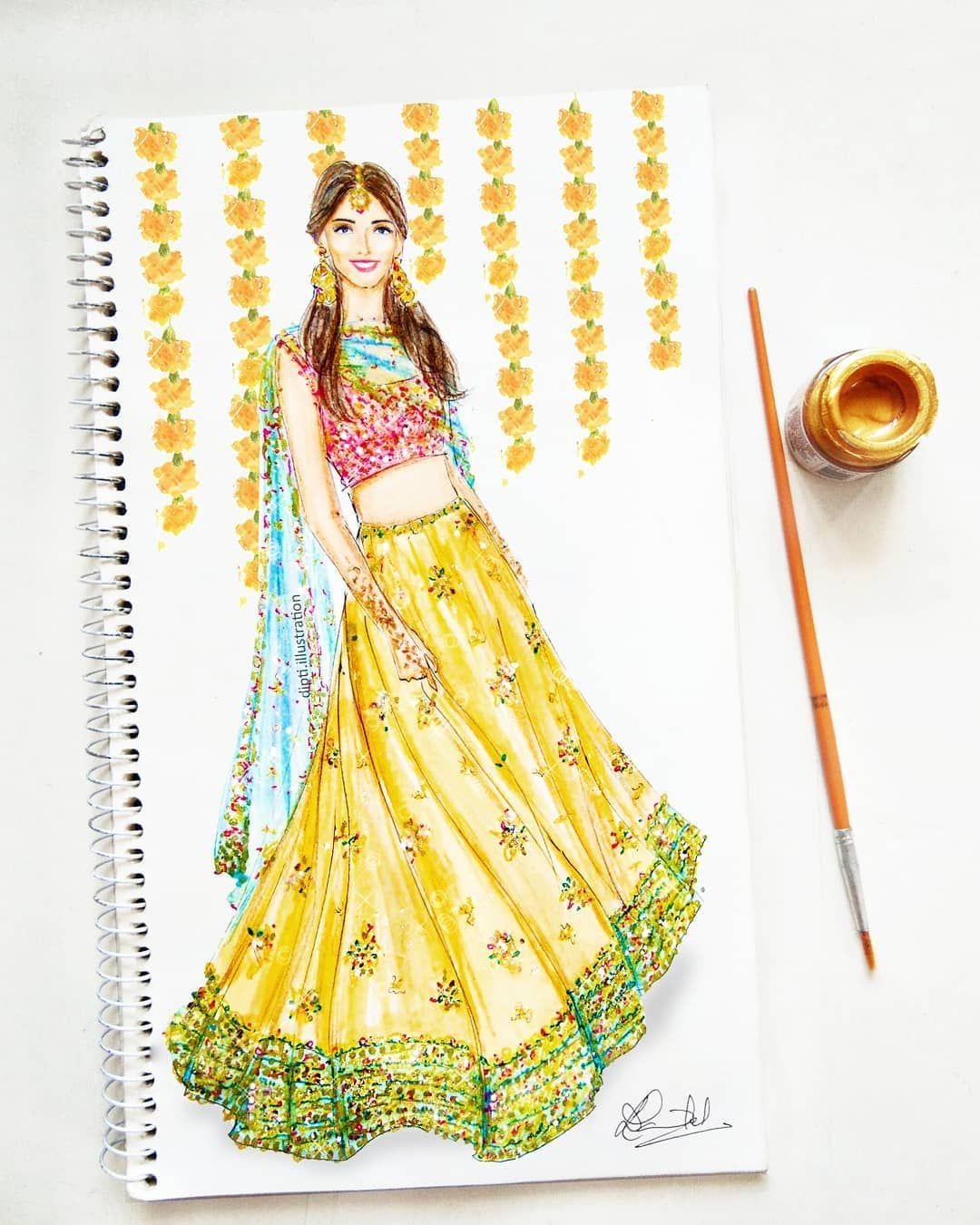 Pin by Sara Nadeem on portfolio in 2019 Fashion sketches