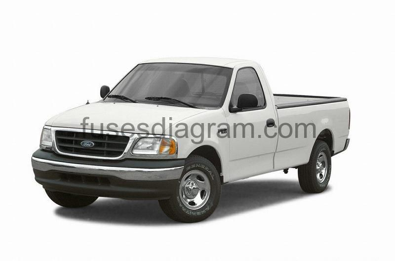 Fuse Box Diagram Ford F150 1997 1998 1999 2000 2001 2002 2003 In 2020 Ford F150 F150 Fuse Box