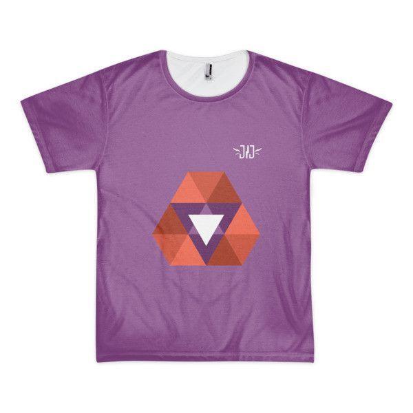 Trilogy Purple Short sleeve t-shirt (unisex)