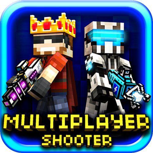 Pixel Gun D Block World Survival Pocket Shooter With Multiplayer - Minecraft block spiele