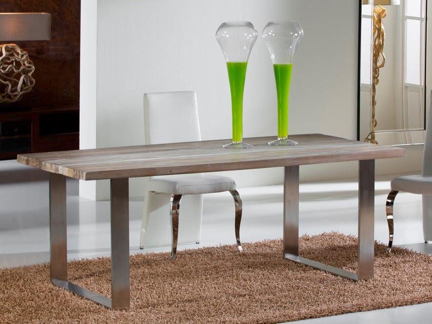 Mesa de comedor moderna Pirena en Ámbar Muebles ...