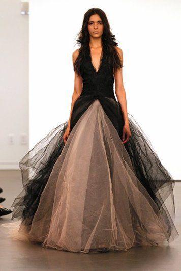 c57d1eff2f abito da sposa nero Vera Wang Fall | Vera Wang | Moda e Espectaculares