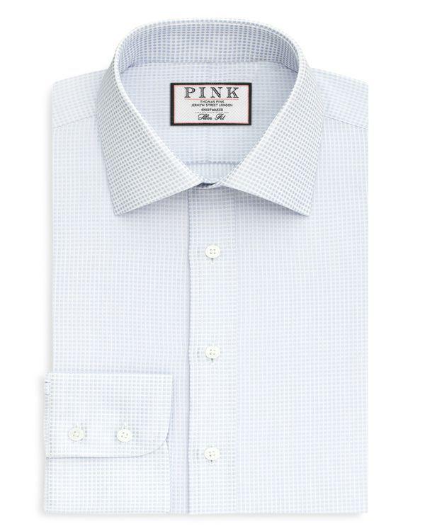 Thomas Pink Zetland Dot Dress Shirt - Bloomingdale's Regular Fit