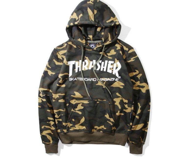 205ca9004d62 Thrasher Camo Hoodie