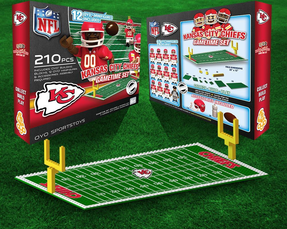 Kansas City Chiefs Nfl Oyo Figure And Field Team Game Time Set Seahawks Game Time Atlanta Falcons Game Team Games