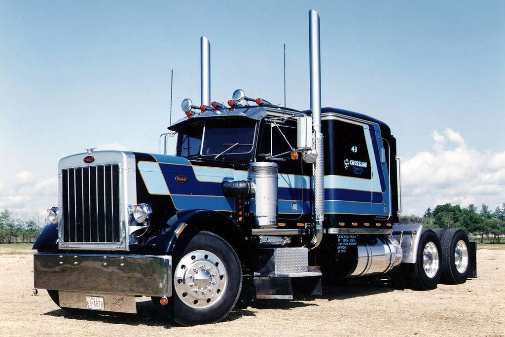 1979 Peterbilt 359 Peterbilt Big Trucks Big Rig Trucks