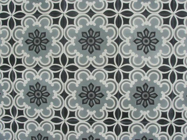 FLOWERZ 5 portugese tegels,victorian tiles, encaustic floor tiles, cement tiles. Collection: FLOORZ