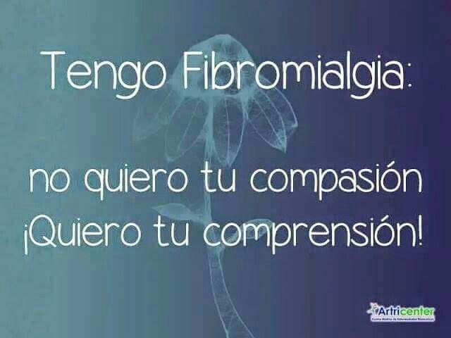Tengo Fibromialgia