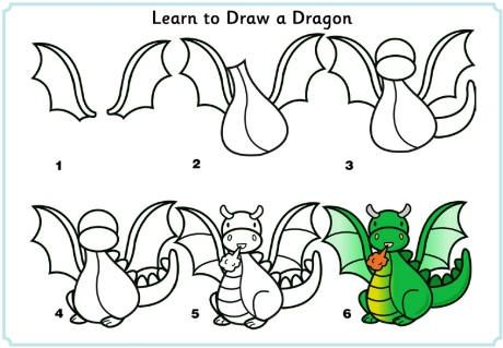 free learn to draw printables tutorials for kids - How To Draw Animals Step By Step For Kids Printable