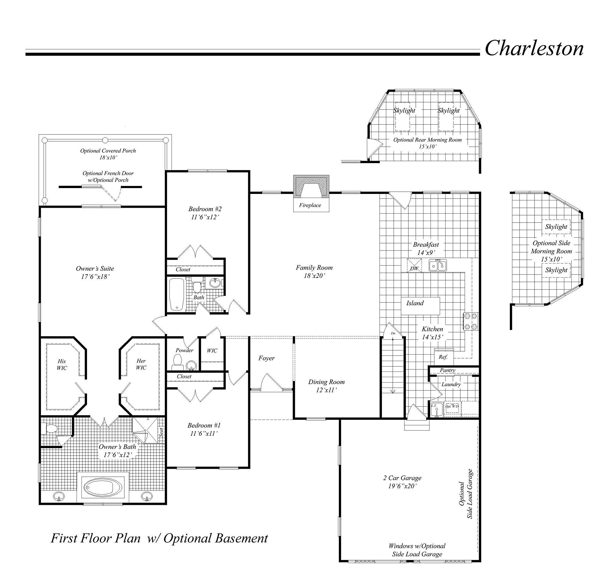 House Illustration Home Rendering Classic Homes Floor Plan Series Floor Plans House Floor Plans Classic House