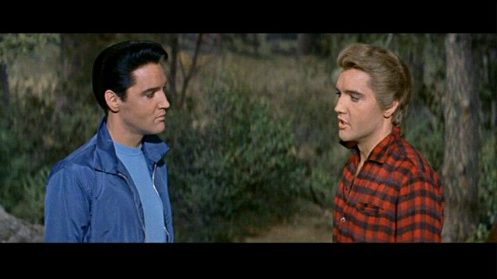 Elvis And His Twin In Love Me Tender Hmm Wonder If That S How