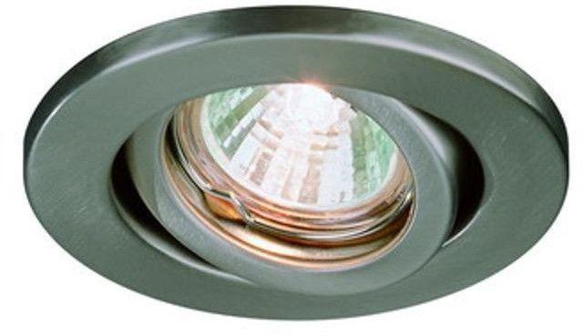 Technische Daten: Material: Metall Farbe: Stahl gebürstet Fassung ...