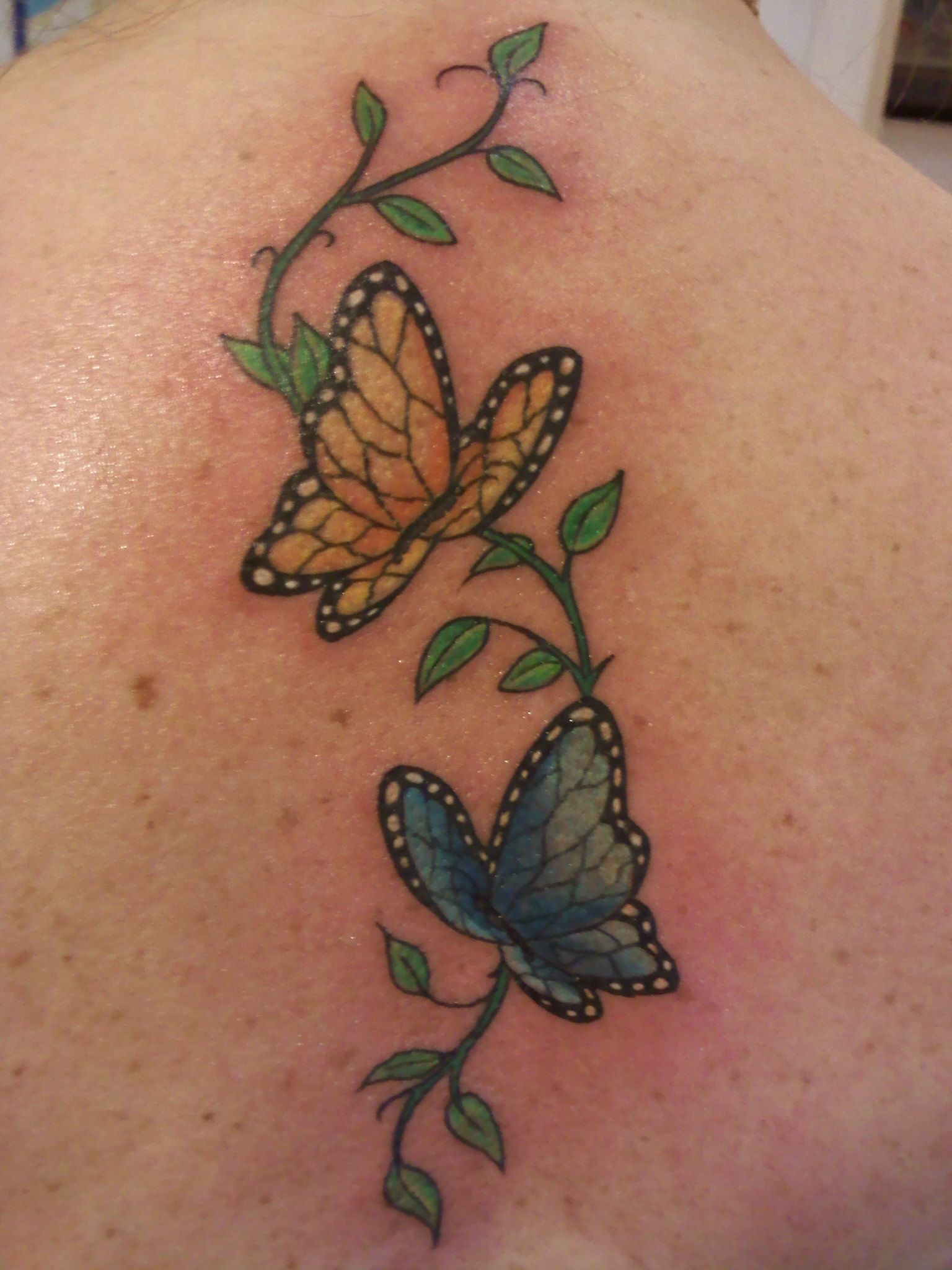 The o jays butterfly tattoos and clothes on pinterest - My Gemini Butterfly Tattoo Tattoo Ideas Pinterest