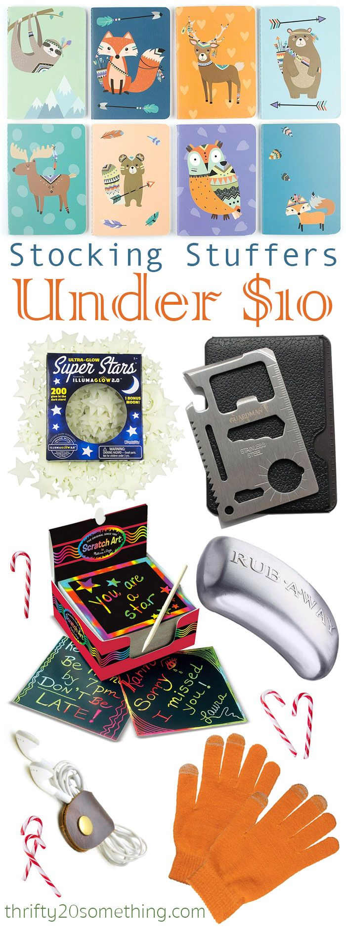 Stocking Stuffers Under 10 Budget Gift Ideas For Co