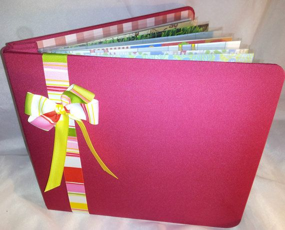 Childhood Memories Kids Premade Scrapbook Album por CTscrapbooks, $40.00