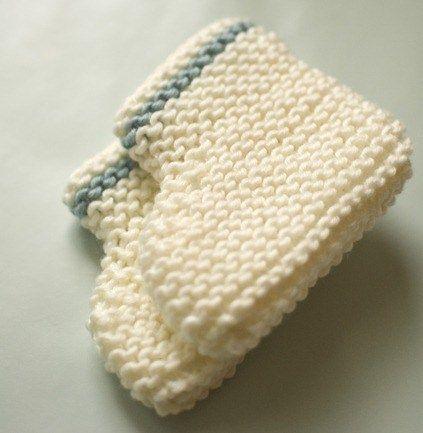 Baby Booties Beginner Knitting Pattern Knitting