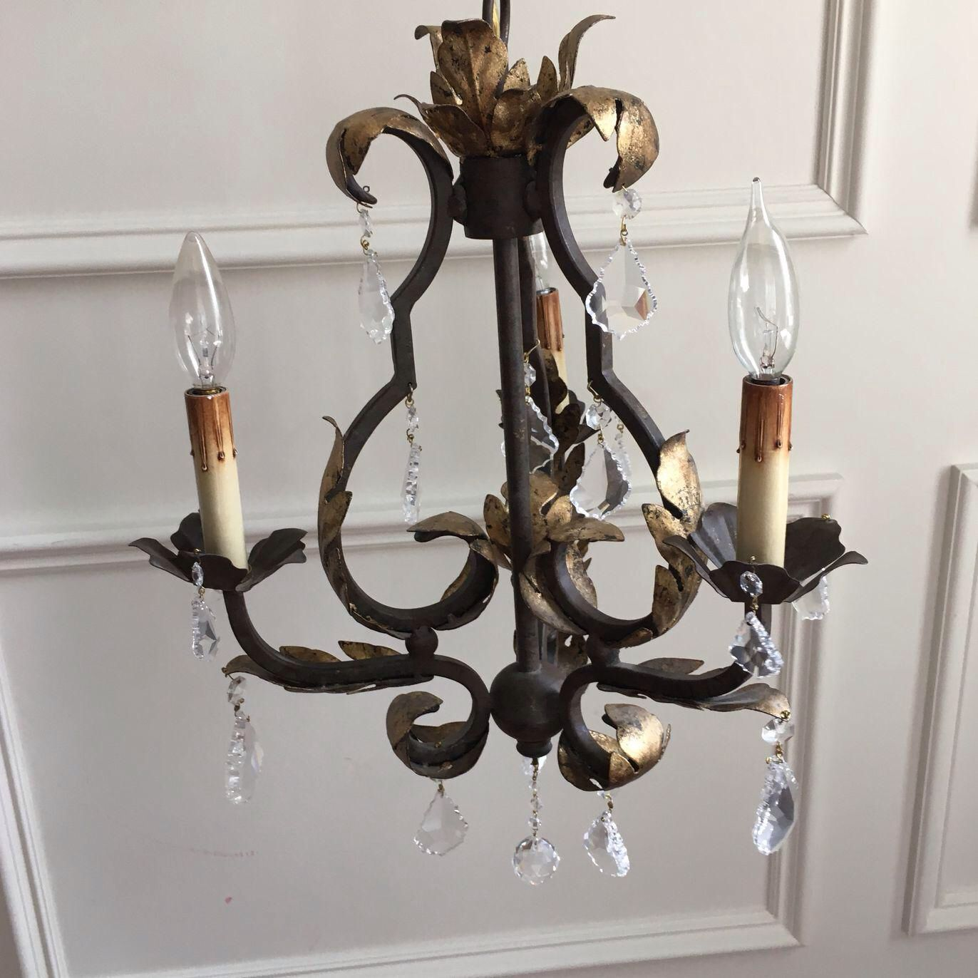 Currey Company Tuscan Chandelier On Chairish Com Chandelier Ceiling Lights Tuscan
