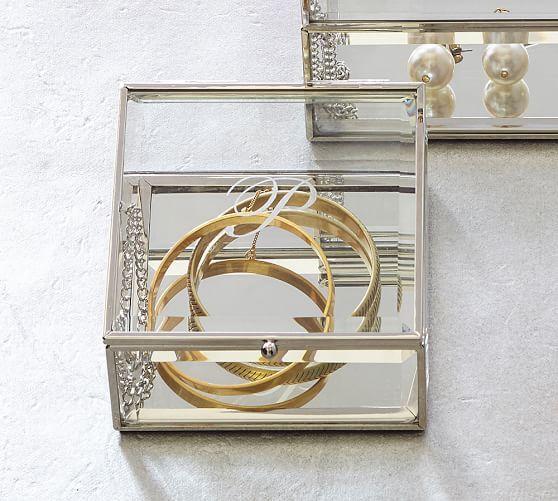 Penelope Jewelry Boxes Glass Jewelry Box Jewellery