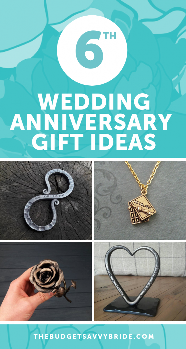 Sixth Wedding Anniversary Gift Ideas Unique wedding