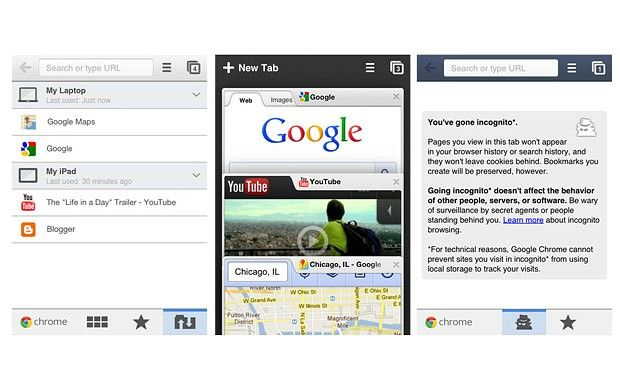 Google Chrome iPhone and iPad versions launched Ipad