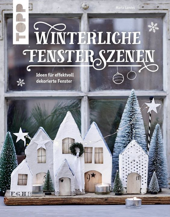 Winterliche Fensterszenen #winterdekodraussen