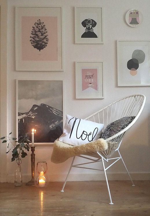 Schmückt eure Wände mit den schönsten Prints und Postern - wandgestaltung mit drei farben