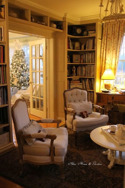 Best Aiken House Gardens Christmas In Our Library Home 400 x 300
