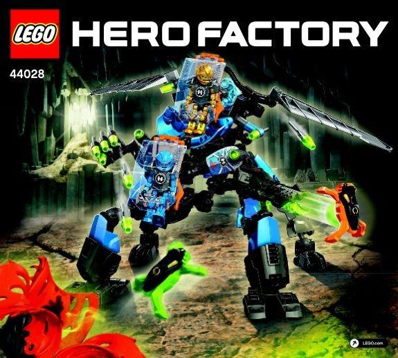 Hero Factory Surge Rocka Combat Machine Lego 44028