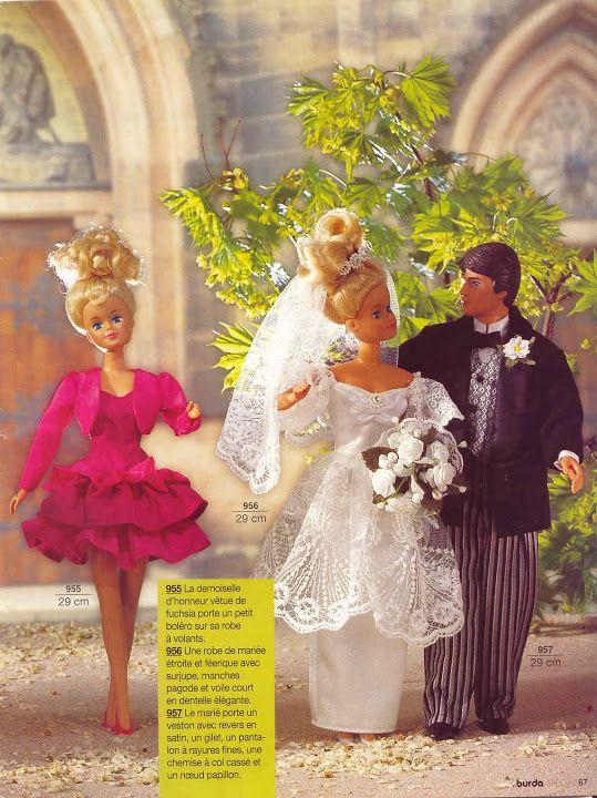 Patrons a télécharger vetements Barbie | patron barbie | Pinterest ...