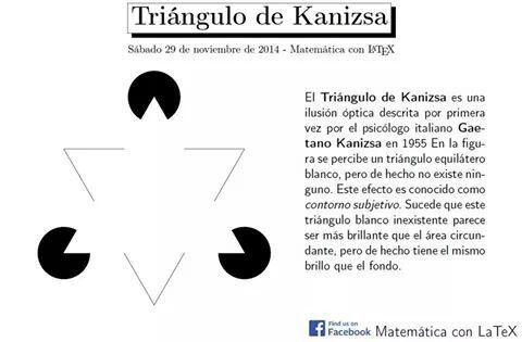 Tringulo De Kanizsa  Maths    Maths